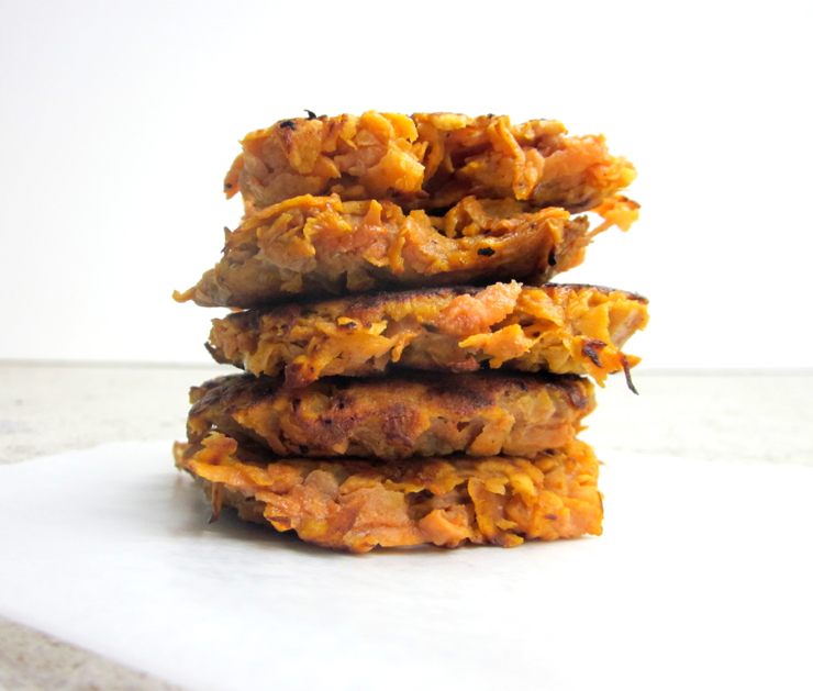 2 Ingredient Sweet Potato Fritters The Pancake Princess