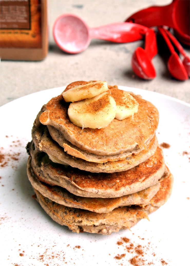 Pancake Fridays Banana Buckwheat Pancakes The Pancake Princess