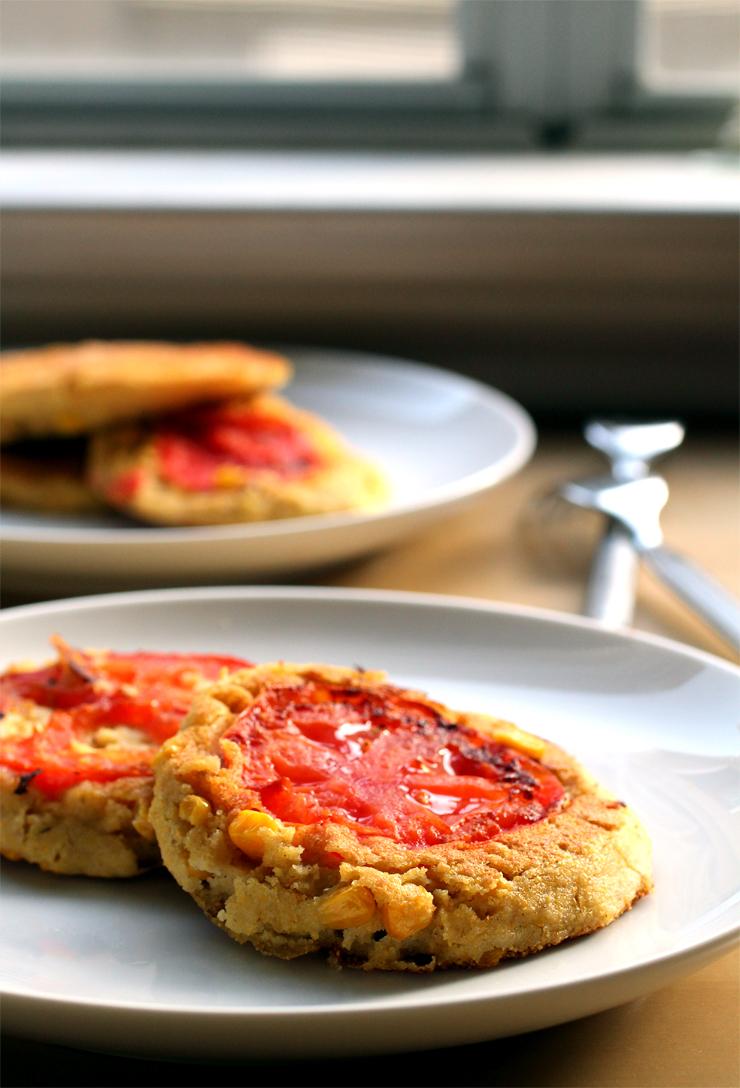 Pancake Fridays: Sweet Corn & Tomato Pancakes | The Pancake Princess