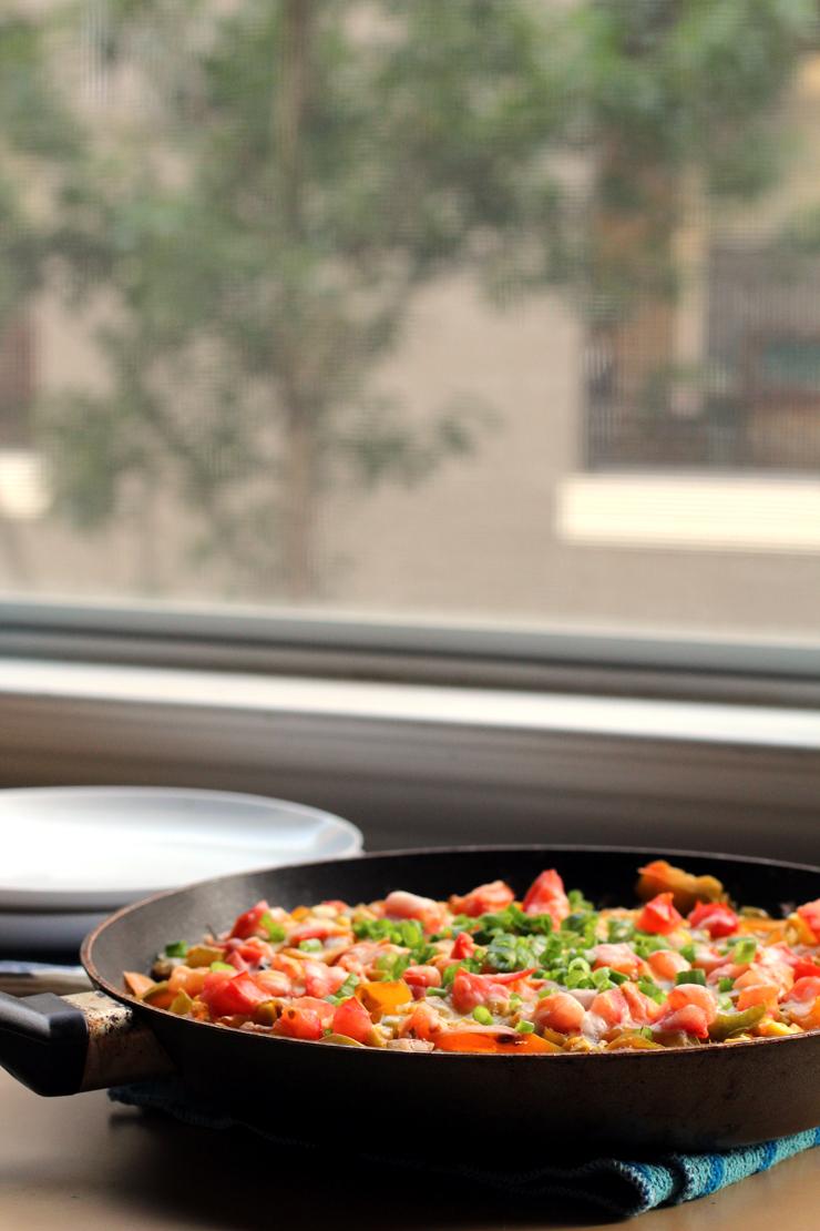 {Stovetop} Mexican Quinoa Black Bean Skillet // The Pancake Princess