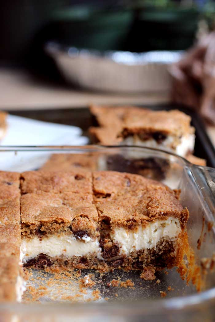 Cheesecake Cookie Bars // The Pancake Princess
