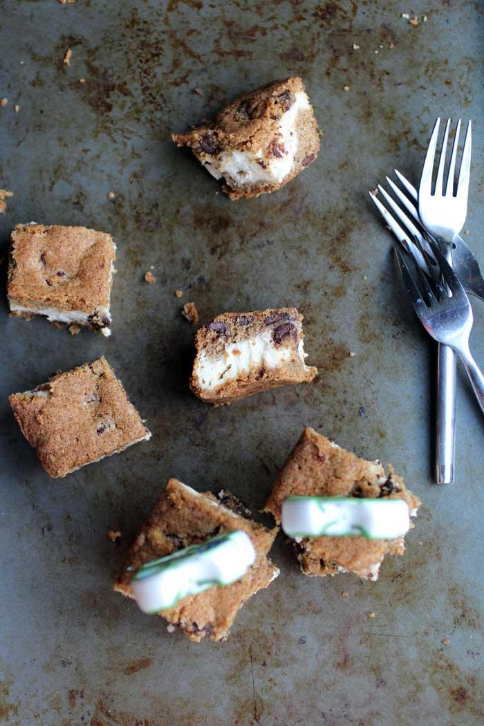 Cheesecake Cookie Bars // The Pancake Princess