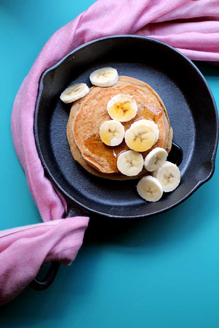 Peanut Butter Cookie Pancakes // The Pancake Princess