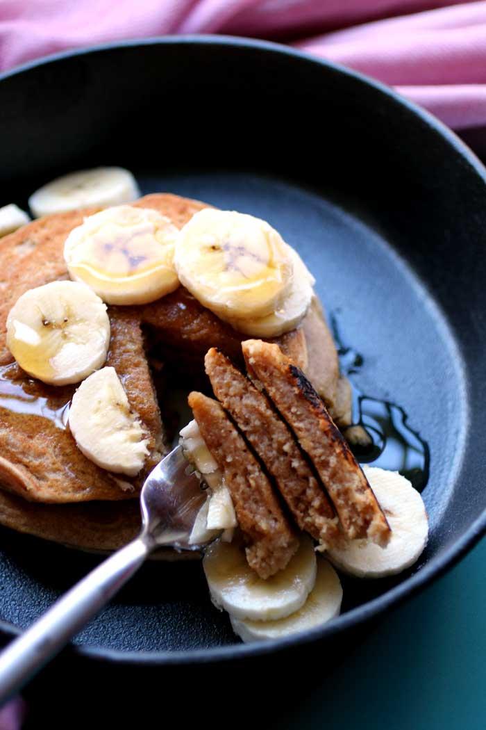 Peanut Butter Cookie Pancakes // The Pancake Princess