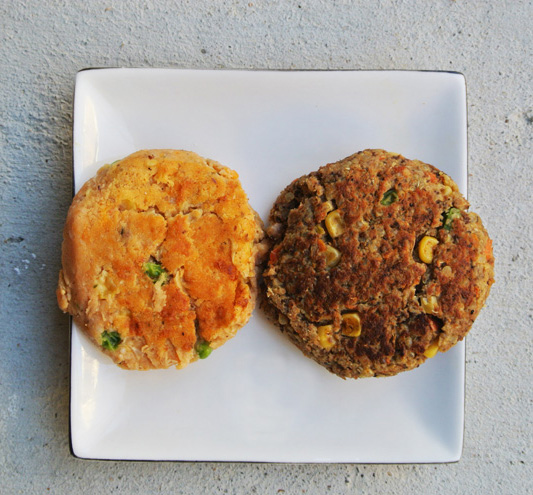 Sweet Potato Veggie Burgers // The Pancake Princess