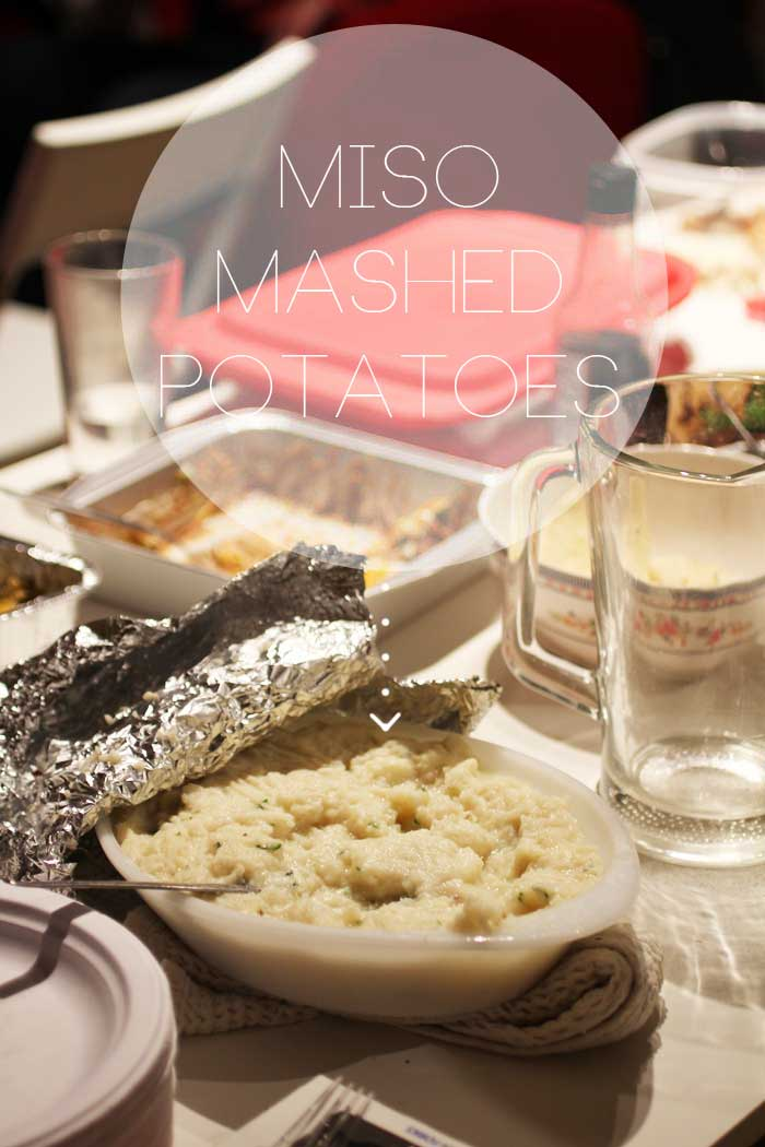 Miso mashed potatoes // The Pancake Princess