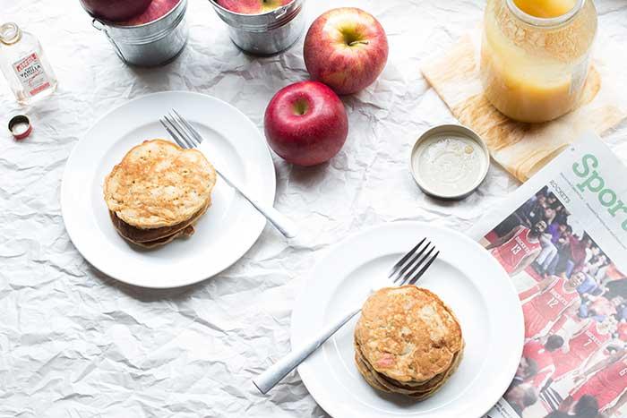 Honey Apple Pancakes