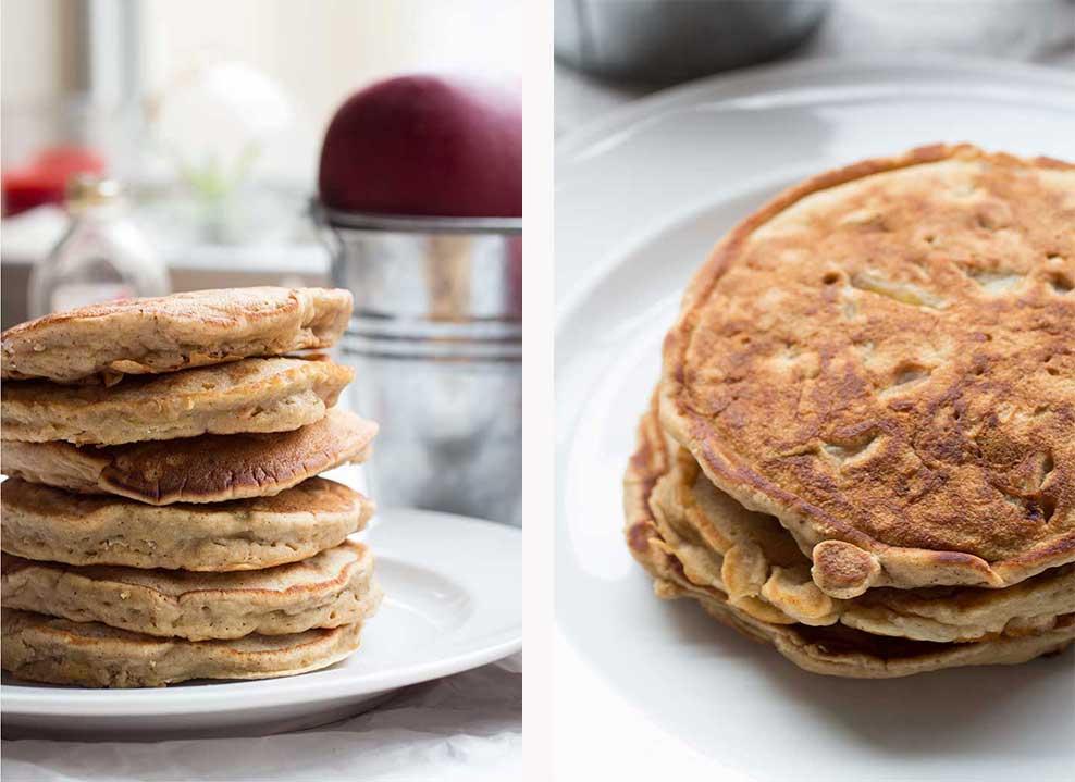 Honey Apple Pancakes // The Pancake Princess