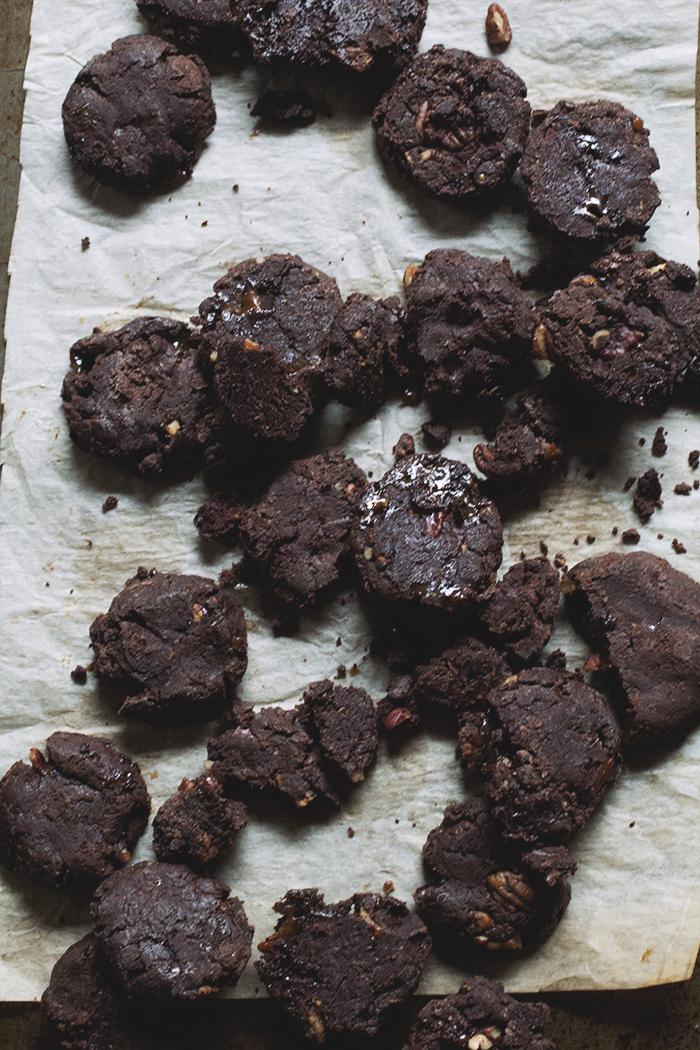 Chocolate Mudslide Cookies // The Pancake Princess