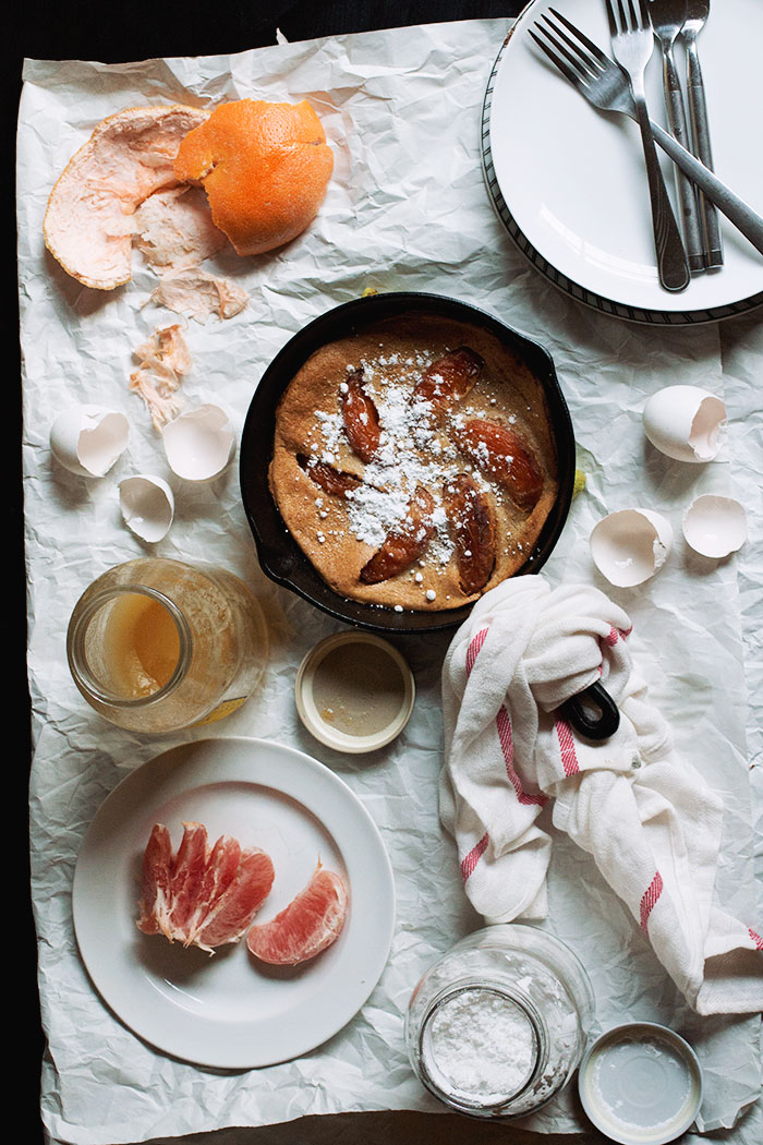 Grapefruit Dutch Baby // The Pancake Princess