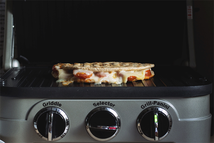 Piadina Grilled Cheese // The Pancake Princess