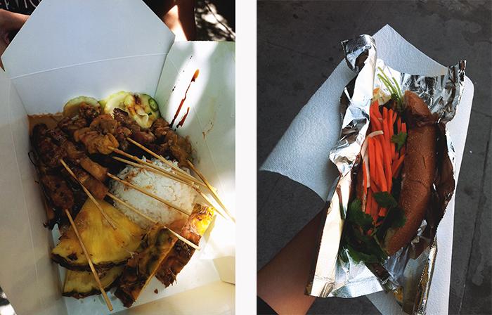 food truck food