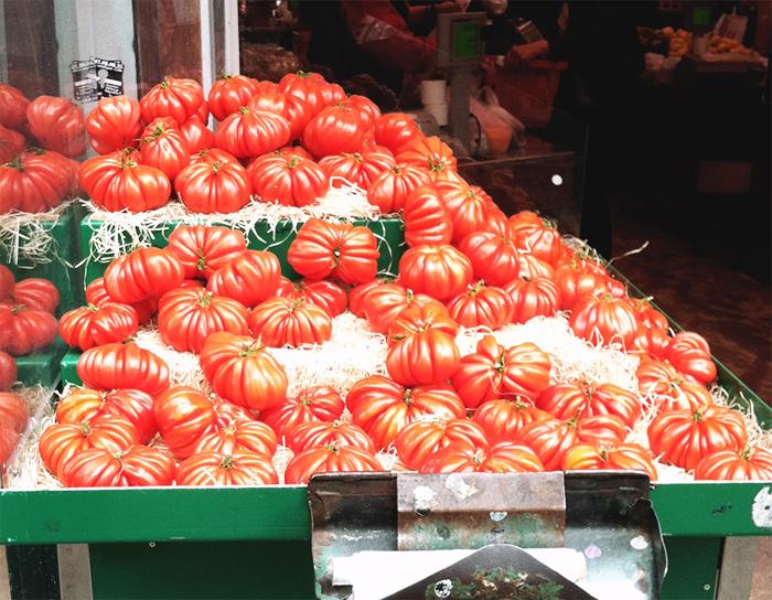 cote de boeuf tomatoes