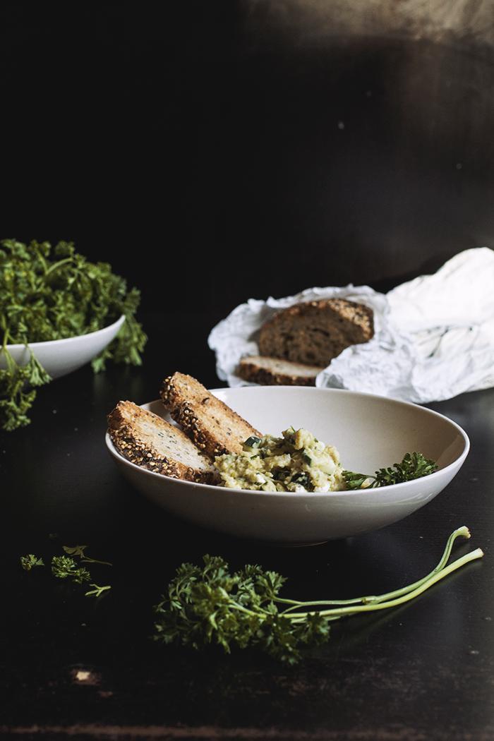 Green Pea and Butter Bean Mash // The Pancake Princess