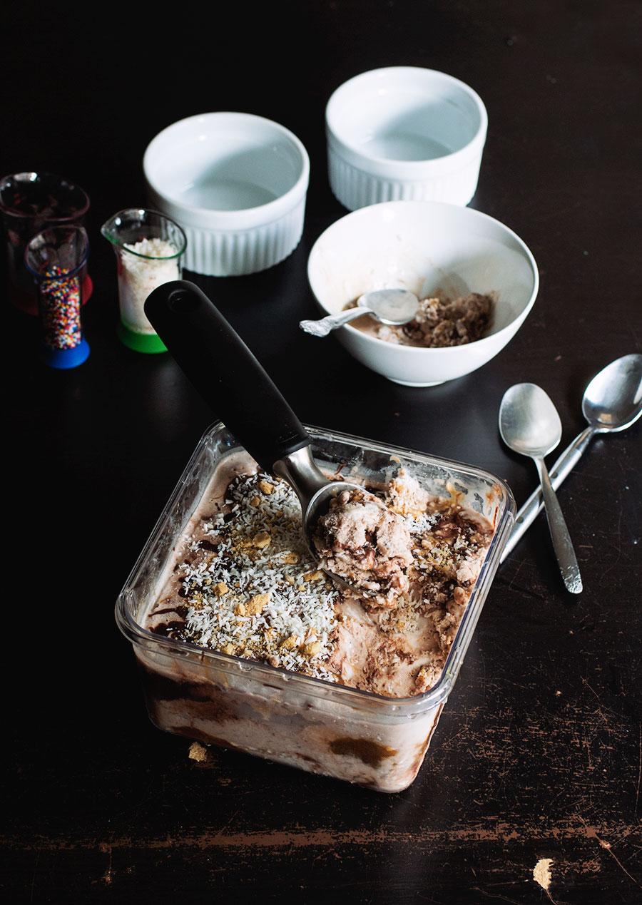 Vegan Samoa Ice Cream // The Pancake Princess