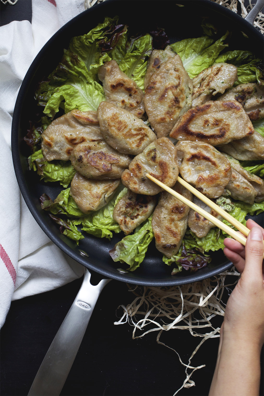 Potstickers, from scratch // The Pancake Princess