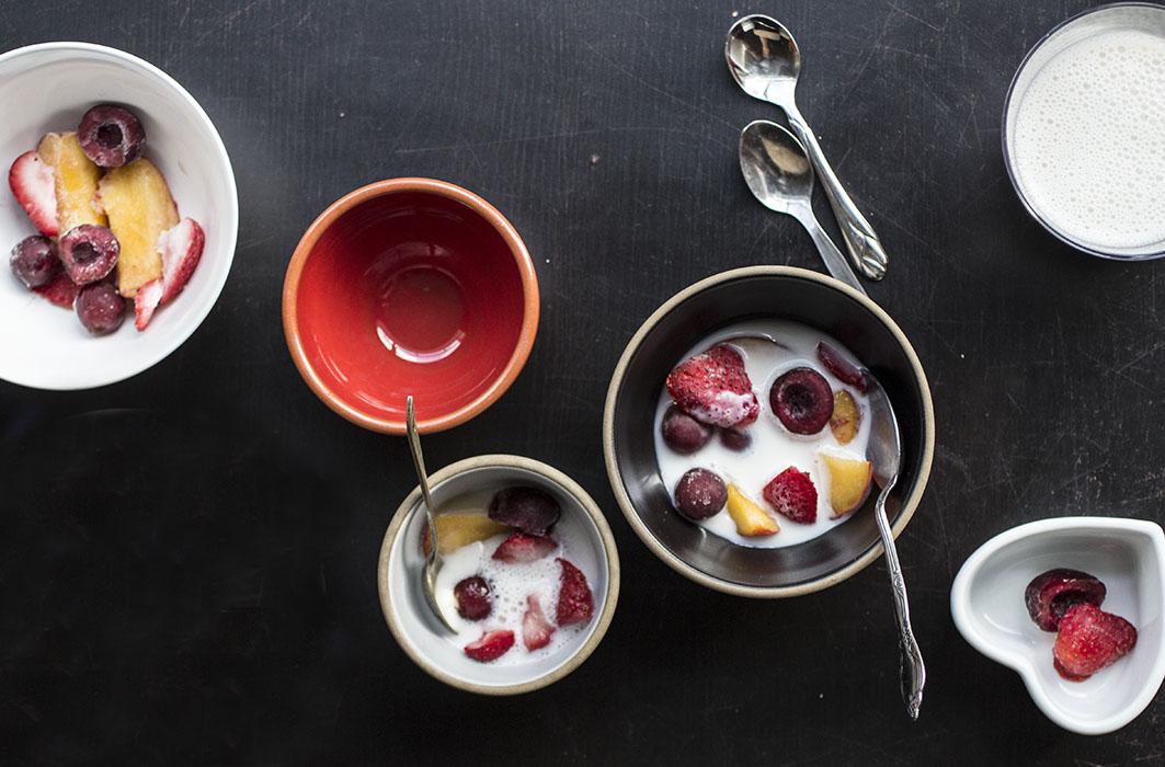 Instant 3-Ingredient Popsicle Bowls! // The Pancake Princess