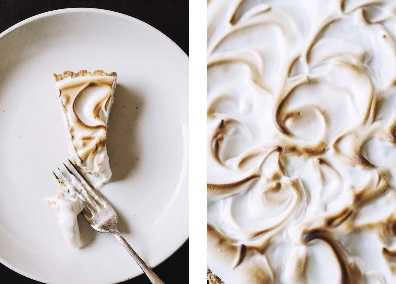 Aquafaba Lemon Meringue Pie // The Pancake Princess