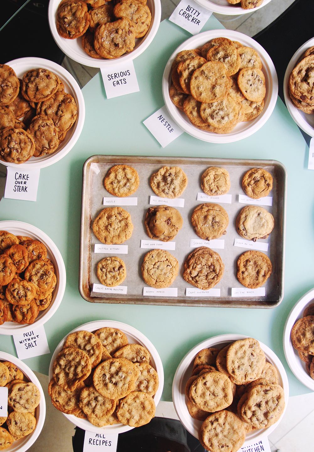 Best Chocolate Chip Cookie Bake Off