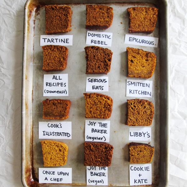 pumpkin bread recipe bake off