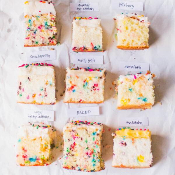 best sprinkle cake bake off nine funfetti cake