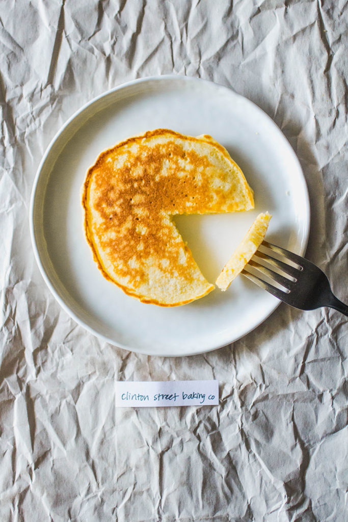 Clinton Street Baking pancakes