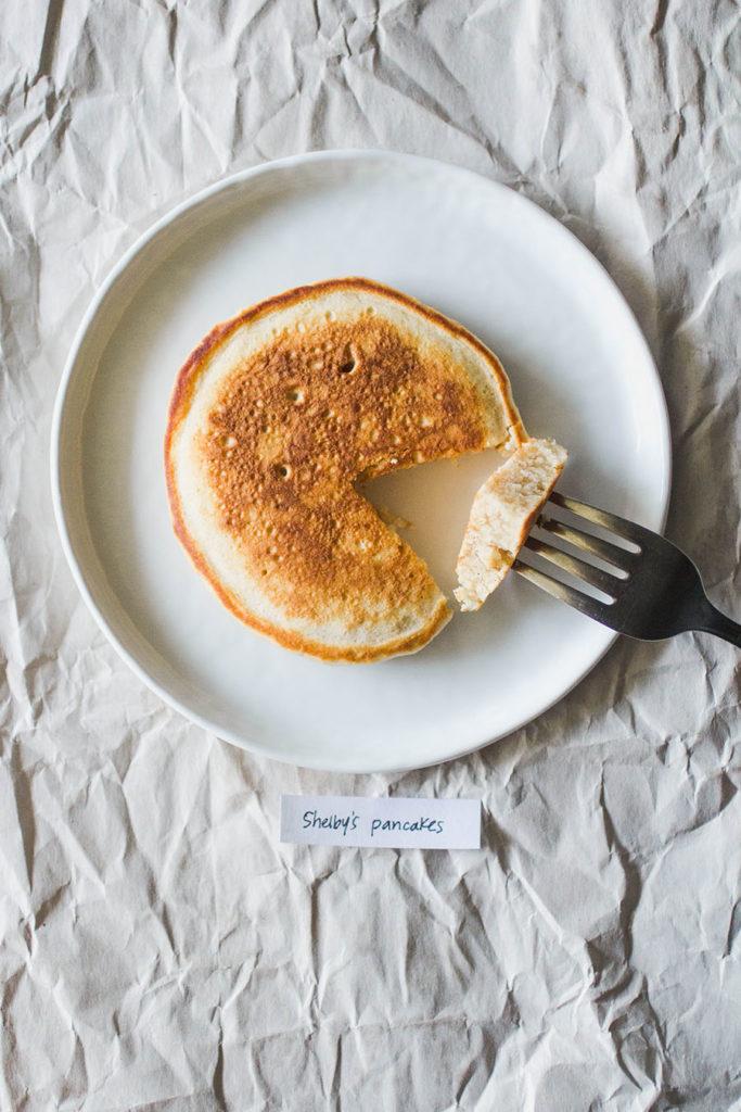 Shelby's cakey cinnamon pancakes