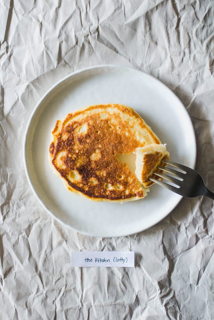 The Kitchn Lofty Pancakes