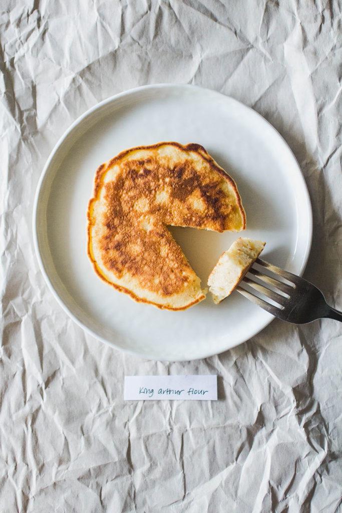 King Arthur Flour pancakes