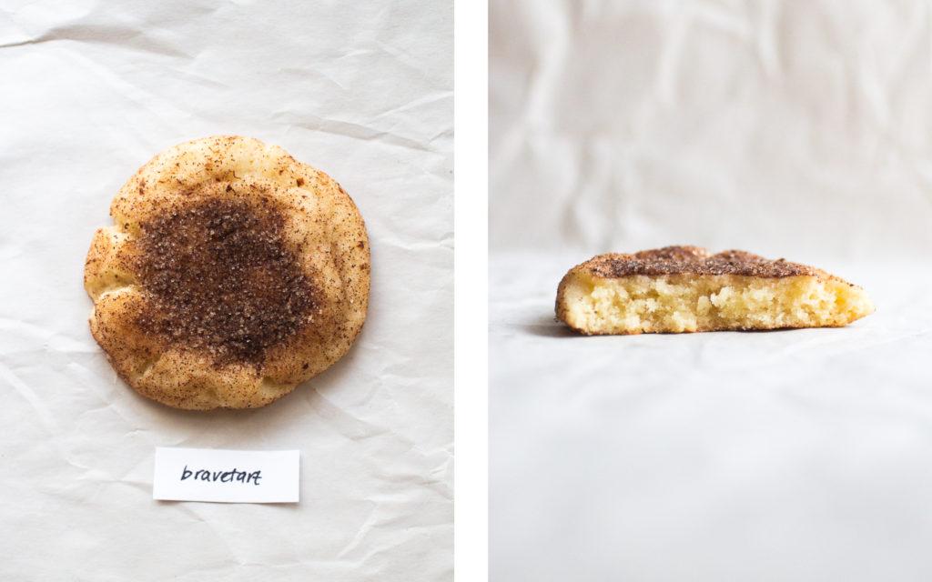 bravetart snickerdoodle cookie