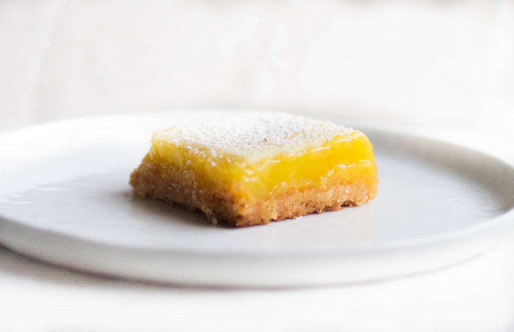 cook's illustrated lemon bars