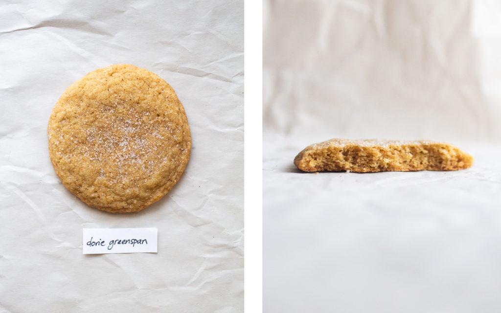dorie greenspan joe yonan snickerdoodle cookie