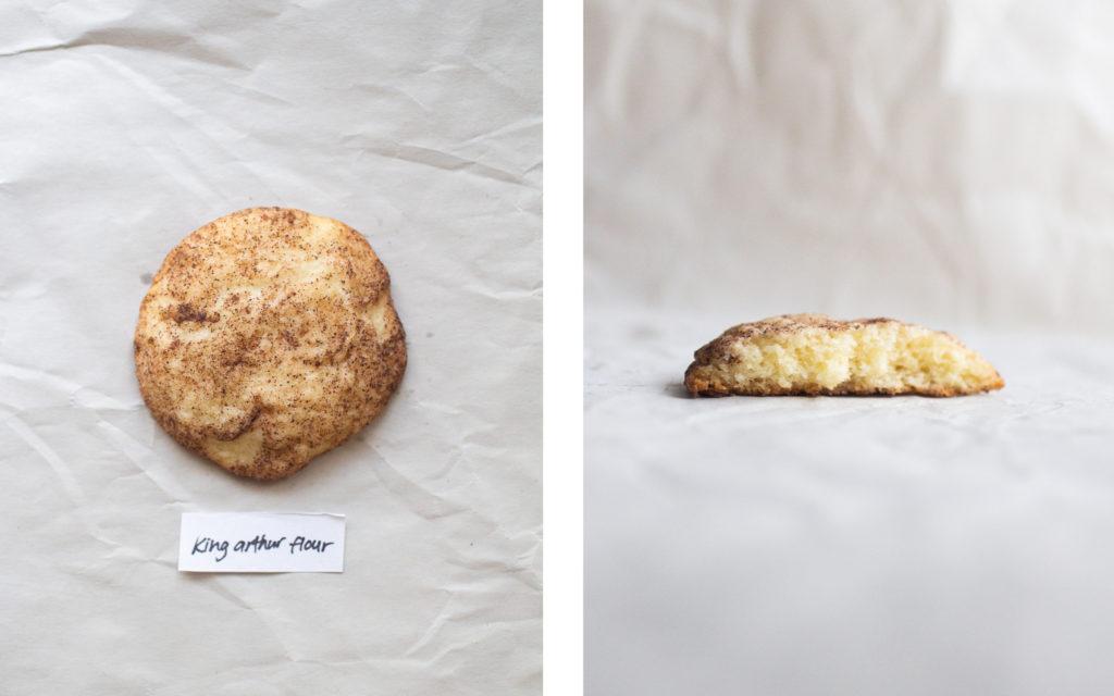 king arthur flour snickerdoodle