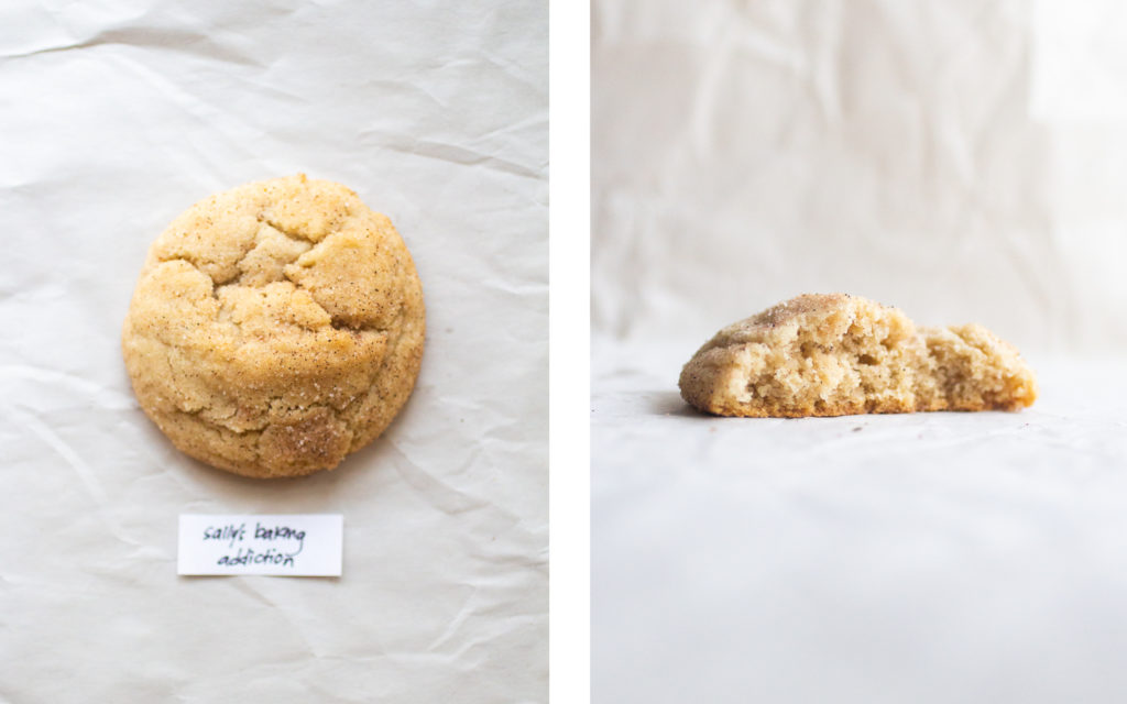 sally's baking addiction snickerdoodle cookie