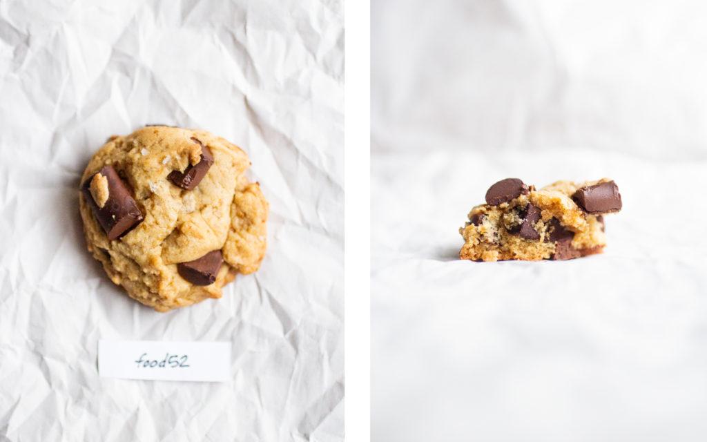 food52 vegan chocolate chip cookie