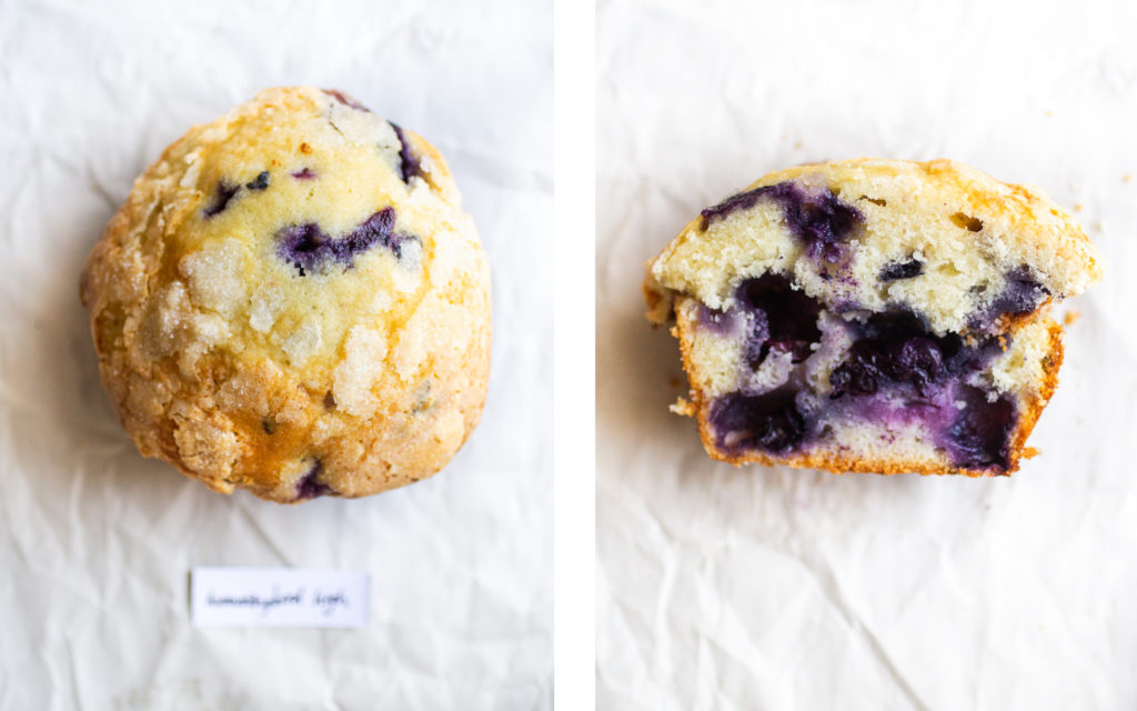 hummingbird high blueberry muffin
