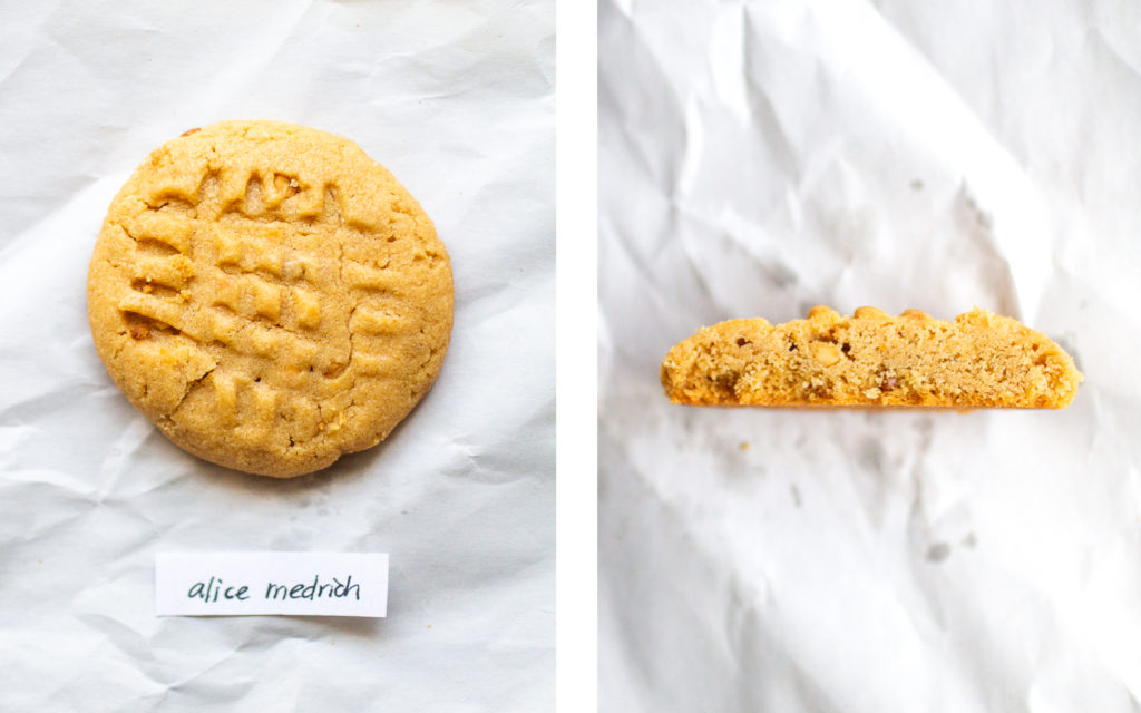 alice medrich peanut butter cookie
