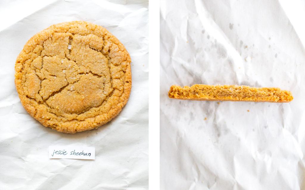 jessie sheehan peanut butter cookie