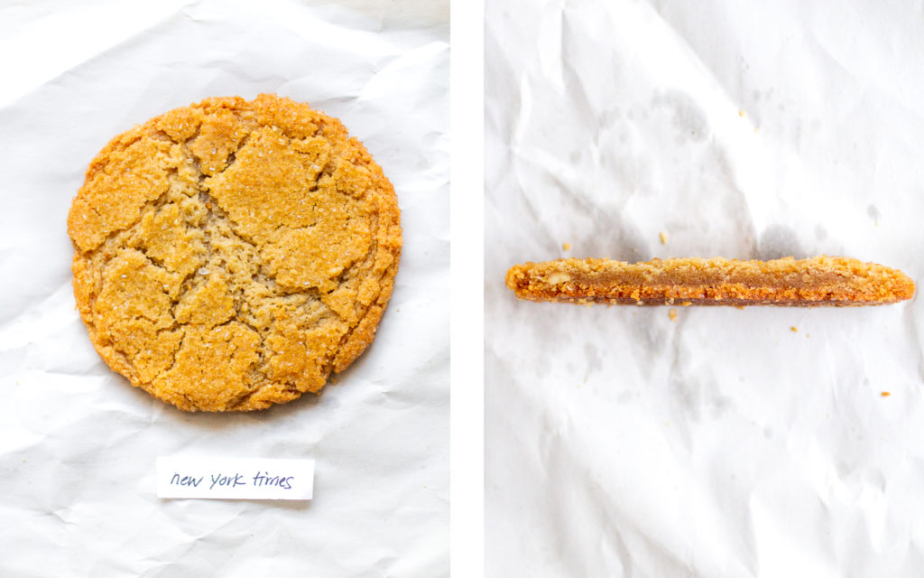 new york times miso peanut butter cookie