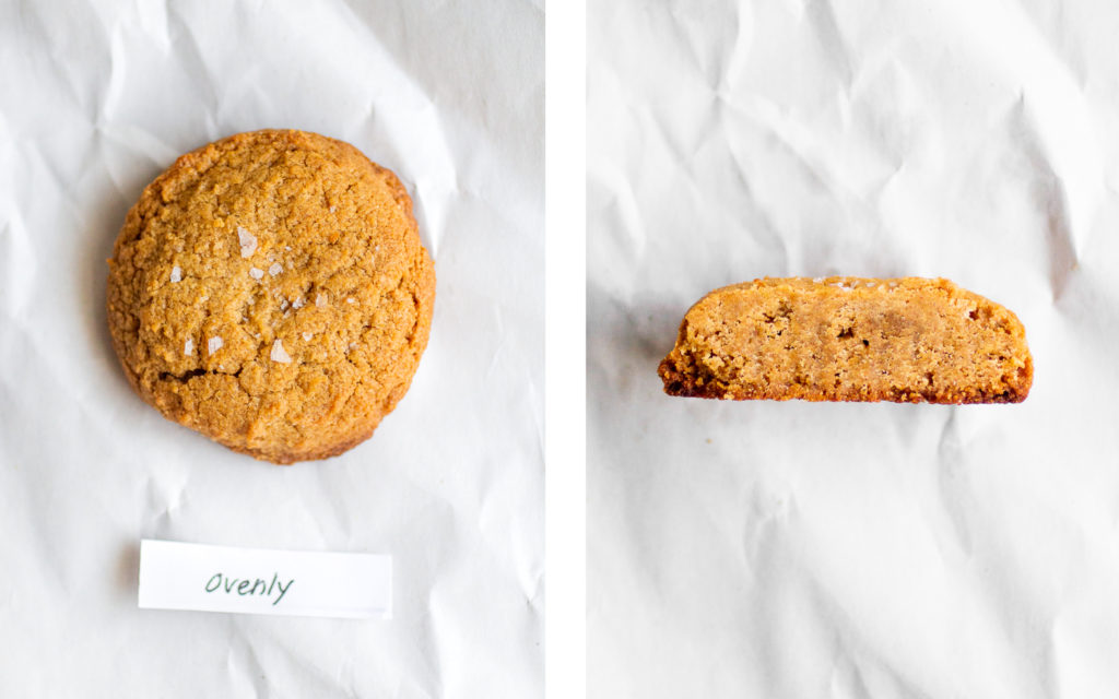 ovenly flourless peanut butter cookie