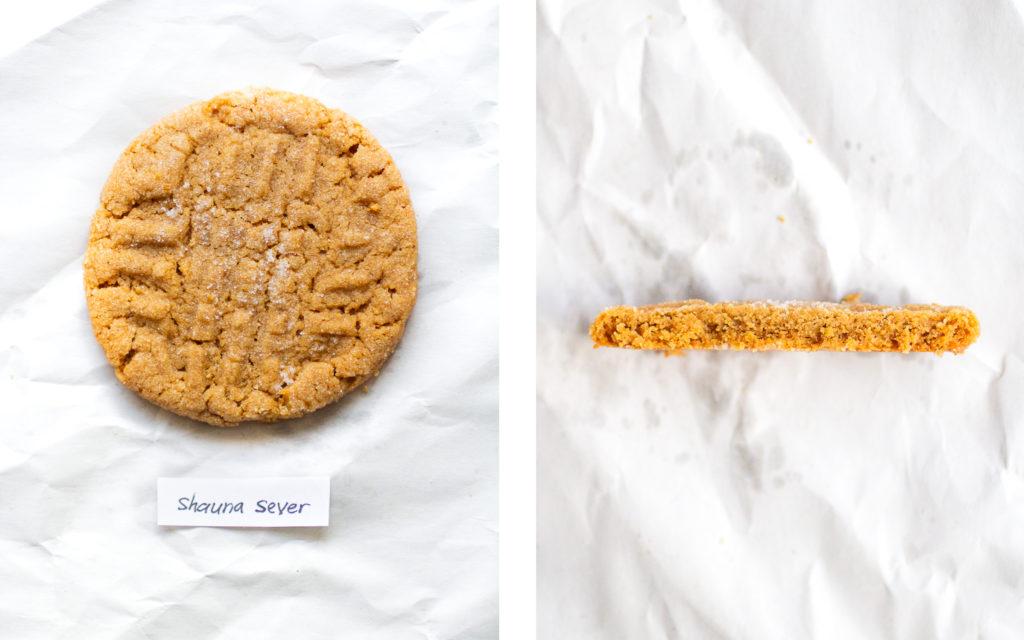 shauna sever peanut butter cookie