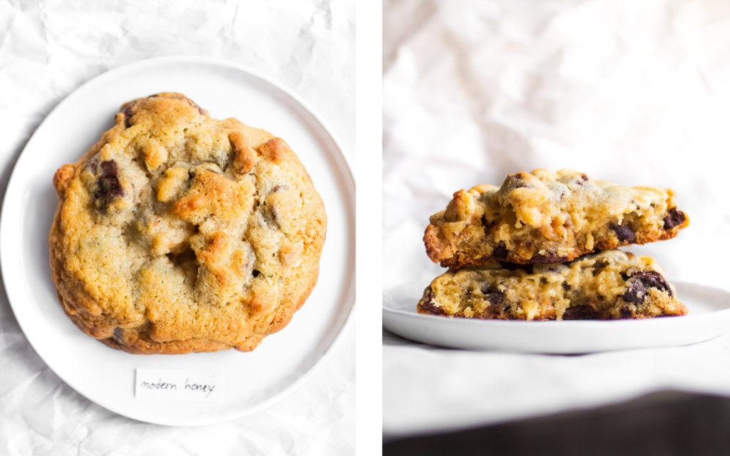 Modern Honey Levain Cookie Bake Off // The Pancake Princess