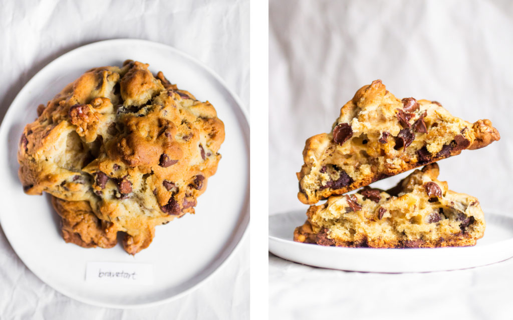 Bravetart Levain Copycat Cookie // The Pancake Princess