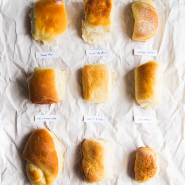 Best Parker House Roll Bake Off // The Pancake Princess