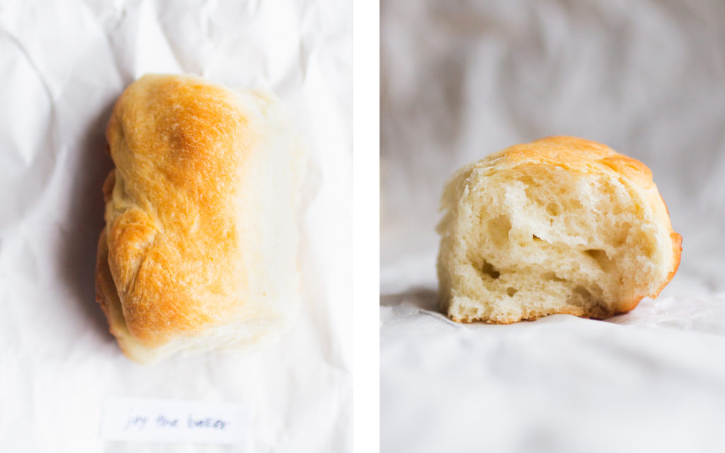 joy the baker parker house roll