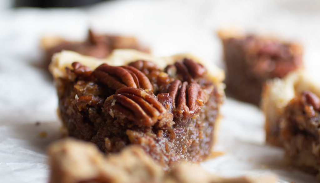 slice of Texas Monthly pecan pie