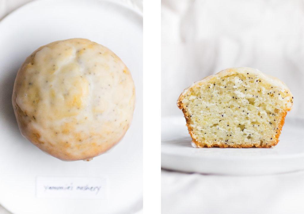 lemon poppy seed muffin yammie's noshery