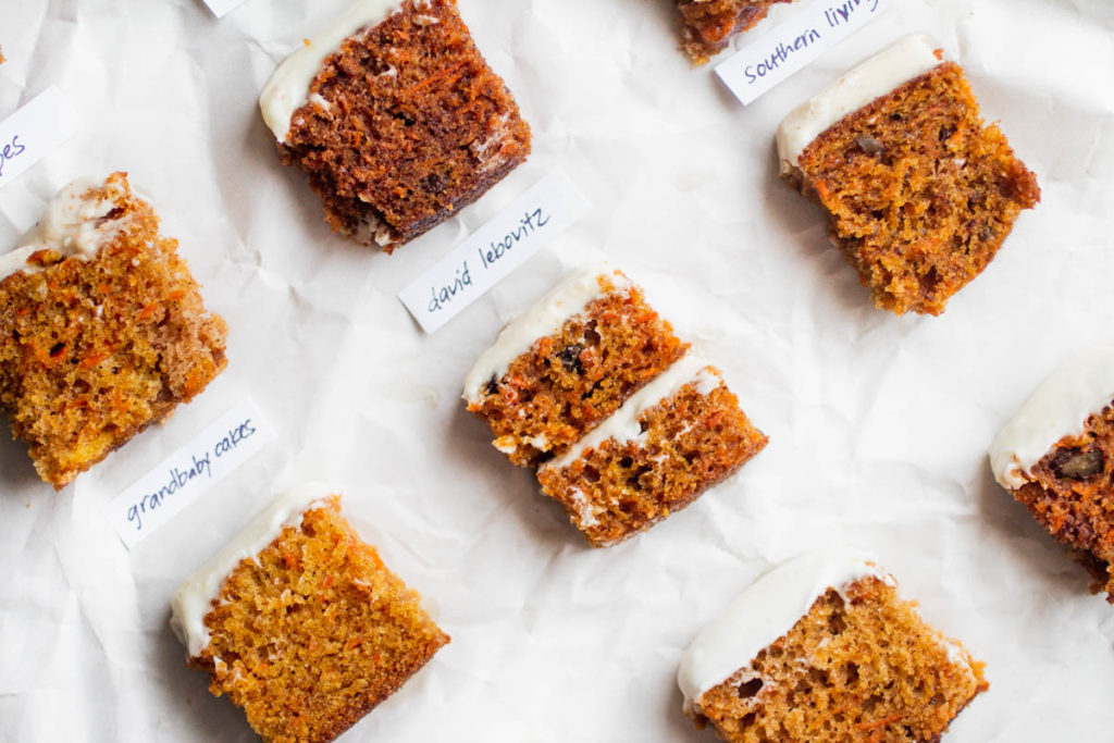 carrot cake bake off