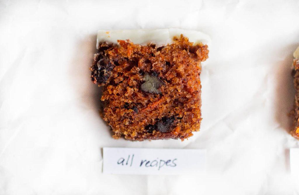 all recipes carrot cake